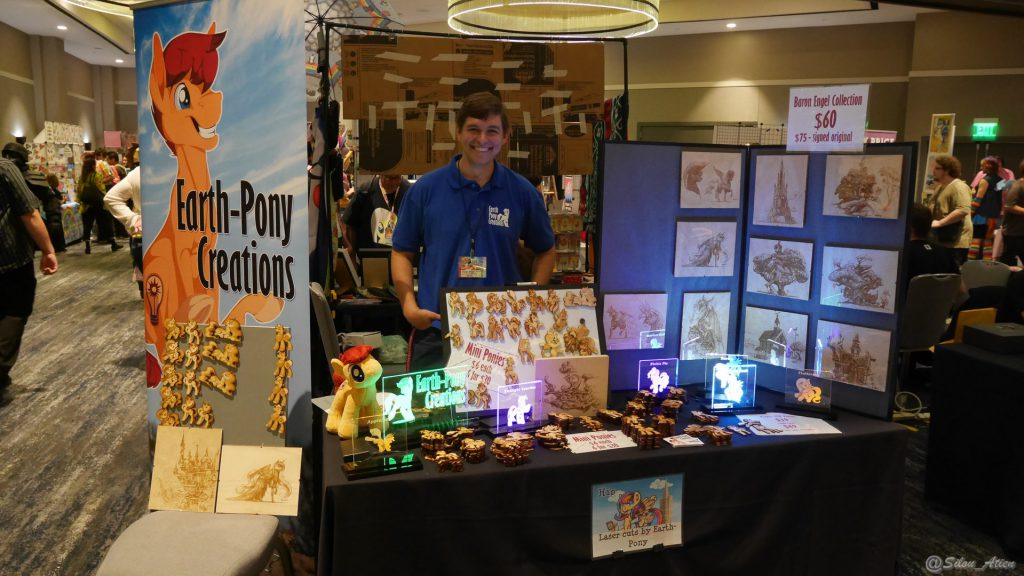 Le stand de Earth-Pony Creations