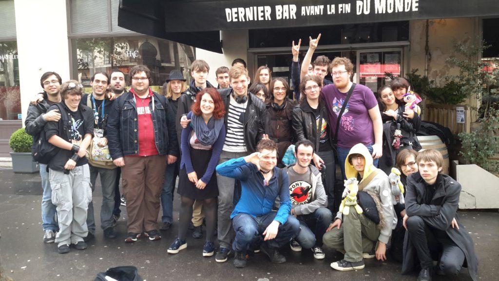 Troisième meet-up au Dernier Bar